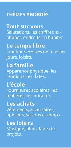 A1-Themes abordes