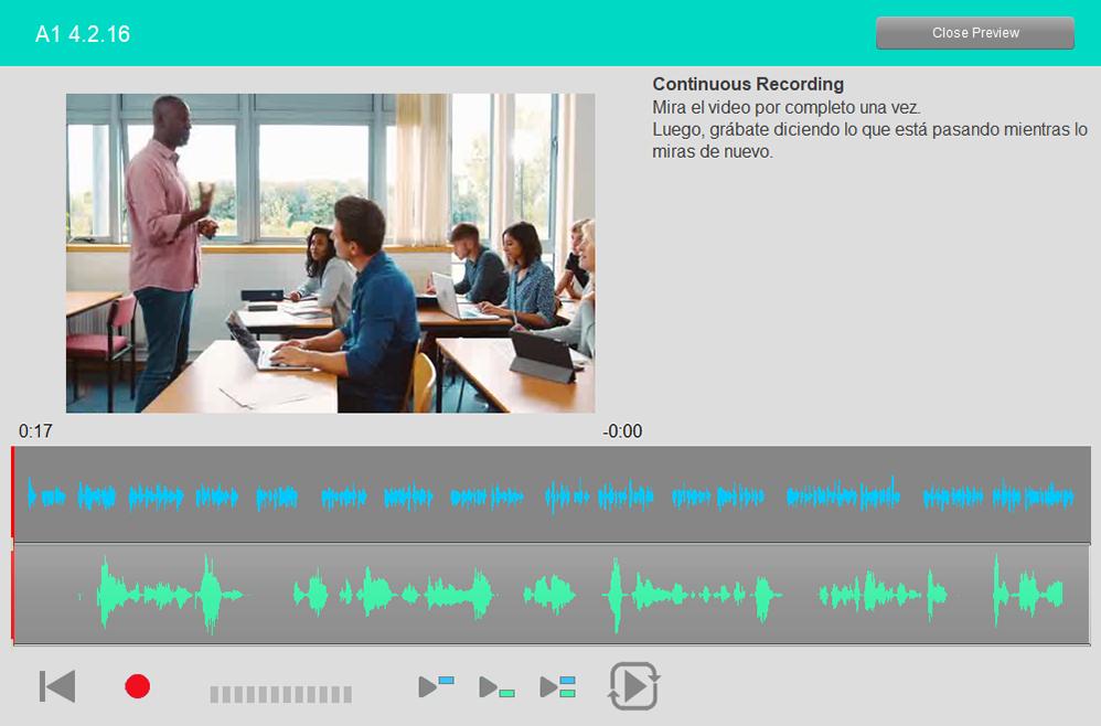 Continuous Recording Student Spanish-1