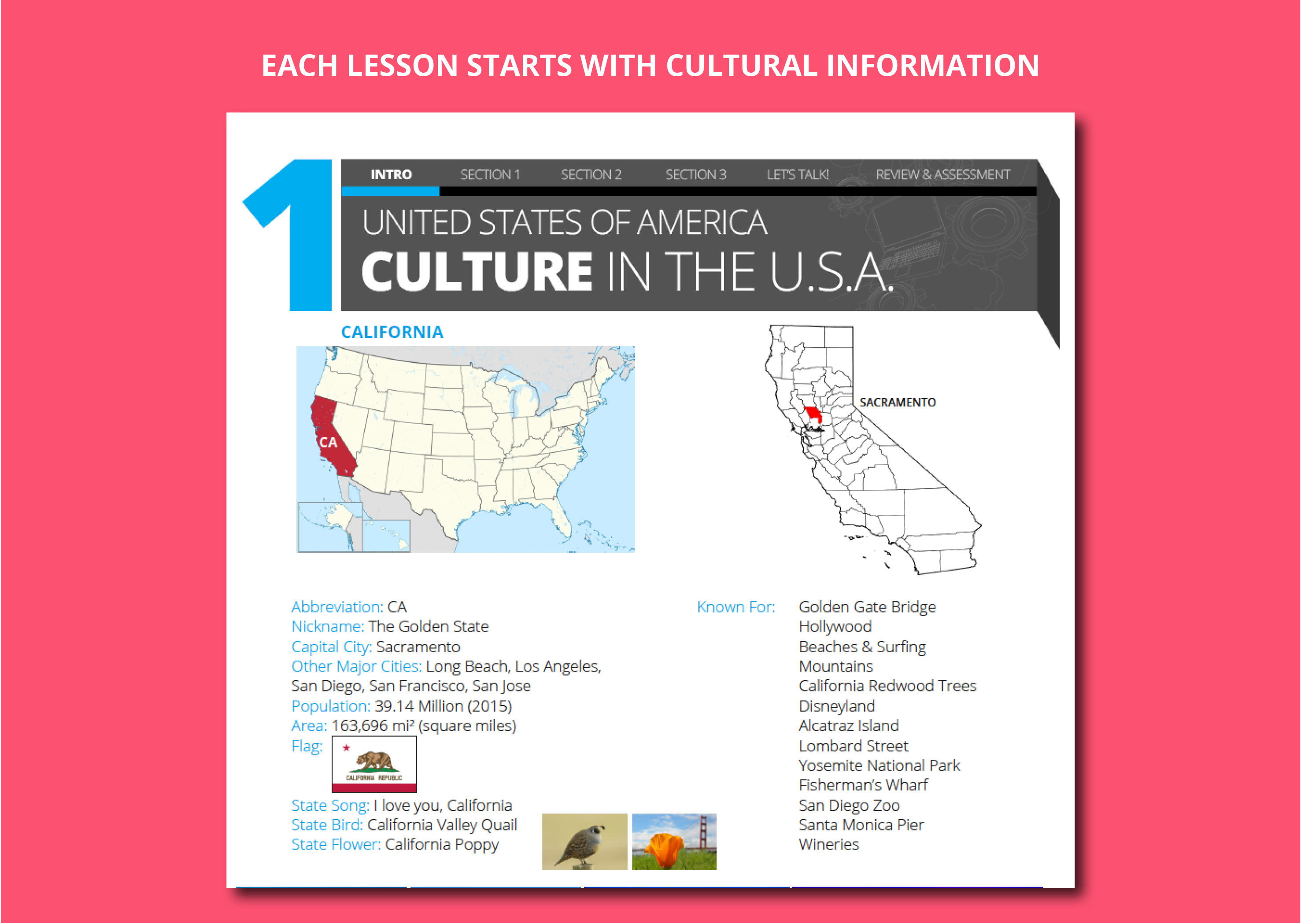 Cultural Information In Lets Talk English